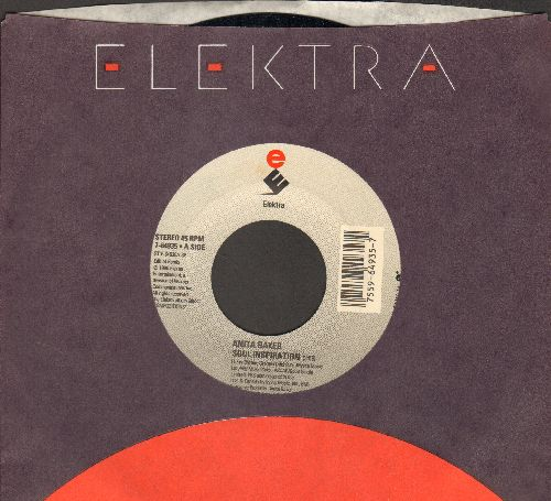 Baker, Anita - Soul Inspiration/Good Enough (with Elektra company sleeve) - NM9/ - 45 rpm Records