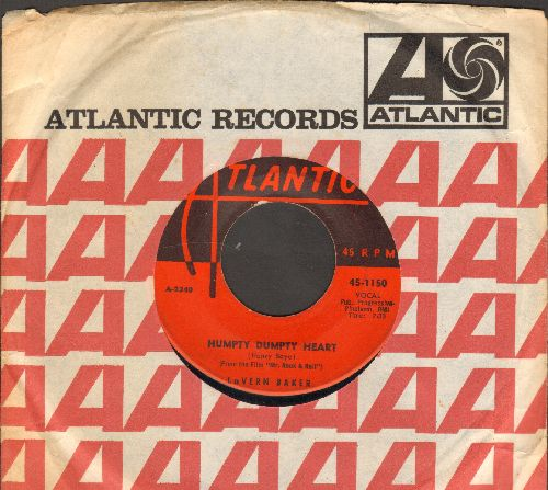 Baker, LaVern - Humpty Dumpty Heart/Love Me Right (with juke box label) - VG7/ - 45 rpm Records
