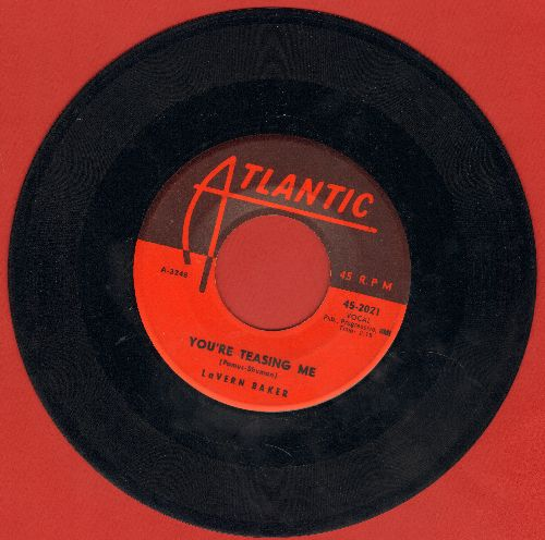 Baker, LaVern - You're Teasing Me/I Waited Too Long - VG7/ - 45 rpm Records