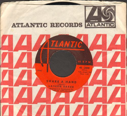 Baker, LaVern - Shake A Hand/Manana (with Atlantic company sleeve) - EX8/ - 45 rpm Records