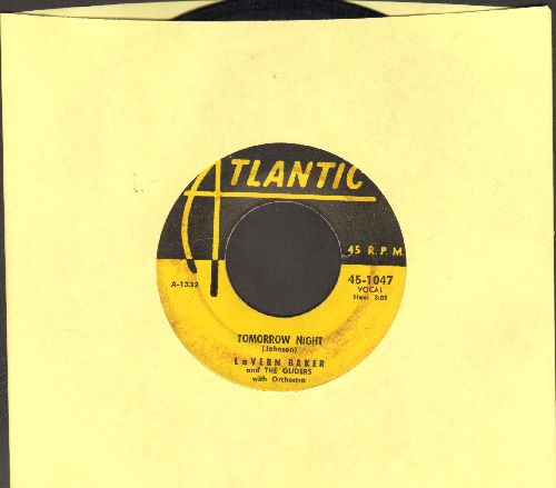 Baker, LaVern - Tweedlee Dee/Tomorrow Night (yellow label early pressing) - VG6/ - 45 rpm Records