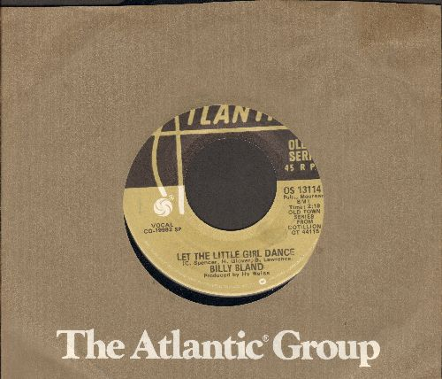 Bland, Billy - Let The Little Girl Dance/Remember Then (by The Earls on flip-side) (double-hit re-issue with Atlantic company sleeve) - NM9/ - 45 rpm Records