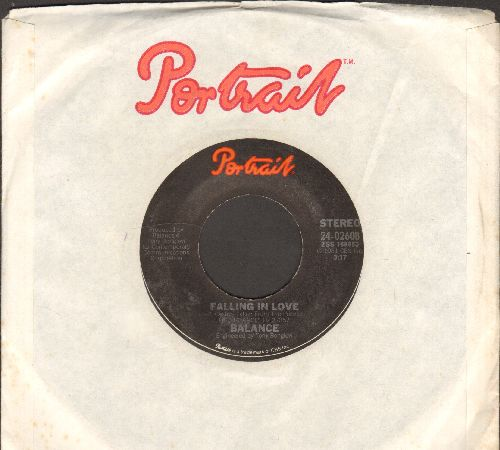 Balance - Falling In Love/Fly Through The Night (with Portrait company sleeve) - NM9/ - 45 rpm Records