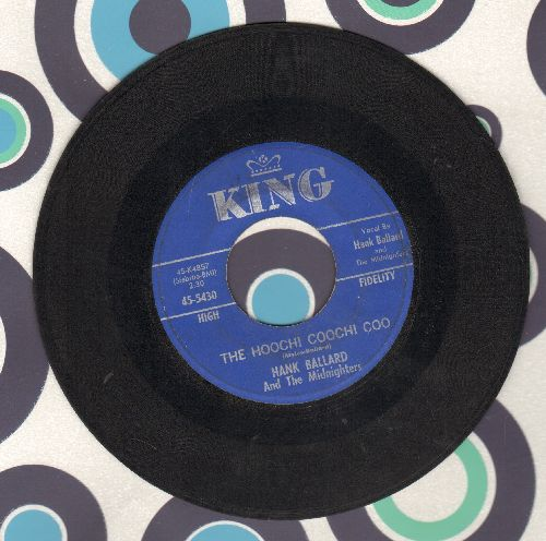 Ballard, Hank & The Midnighters - The Hoochi Coochi Coo/I'm Thinking Of You - VG7/ - 45 rpm Records