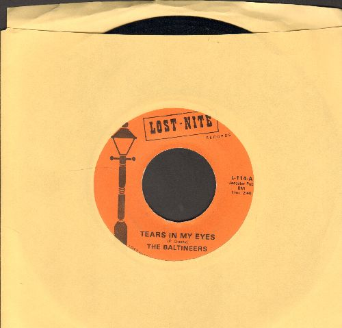 Baltineers - Tears In My Eyes/Joe's Calypso (double-hit re-issue) - NM9/ - 45 rpm Records