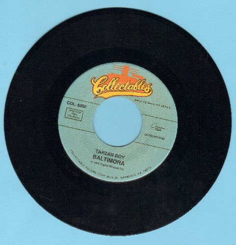 Baltmora - Tarzan Boy/Soldier Of Love (by Donny Osmond on flip-side) (re-issue) - M10/ - 45 rpm Records