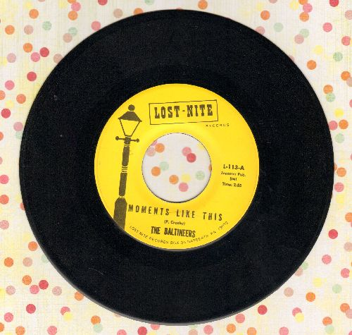 Baltineers - New Love/Moments Like This (double-hit re-issue) - NM9/ - 45 rpm Records