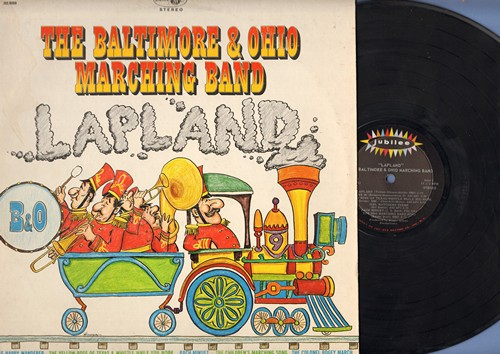 Baltimore & Ohio Marching Band - Lapland: The Kazoo Special, The Children's Marching Song, Seventy-Six Trombones, Girl Watchers Theme, Do Re Mi (Vinyl STEREO LP record) - EX8/EX8 - LP Records