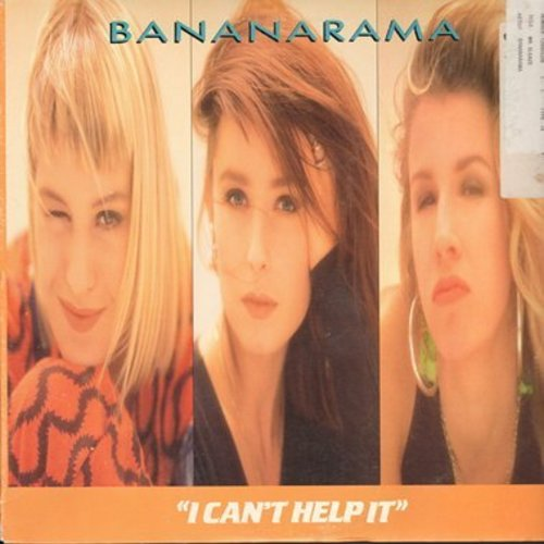 Bananarama - I Can't Help It (8:03 minutes Remix/3:38 minutes 7 inch version/Mr. Sleeze (6 minutes Rare Groove Mix)/4:09 minutes Instrumental (12 inch 33rpm Maxi Single with pictue cover) - M10/EX8 - 45 rpm Records