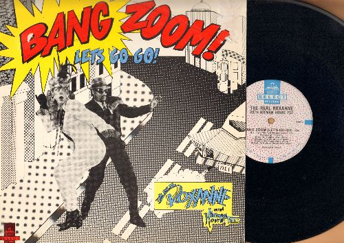 Real Roxanne With Hitman Howie Tee - Bag Zoom (Let's Go-Go) (5:55 minutes)/Howie's Teed Off (5:32 minutes) (12 inch vinyl Maxi Single with picture cover) - EX8/VG7 - Maxi Singles