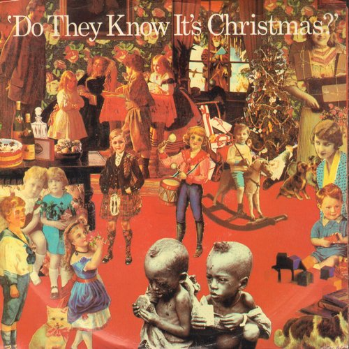 Band Aid - Do They Know It's Christmas?/Feed The World  - NM9/EX8 - 45 rpm Records