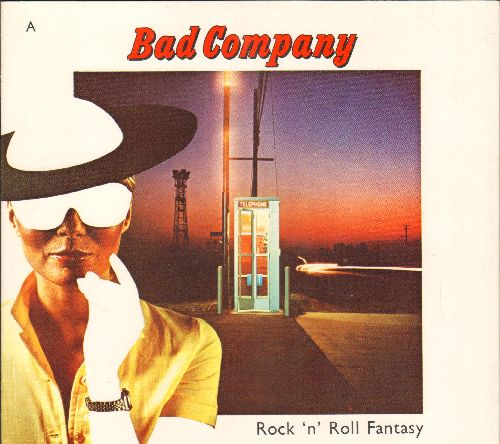 Bad Company - Rock 'N' Roll Fantasy/Crazy Circles (with picture sleeve) - EX8/EX8 - 45 rpm Records