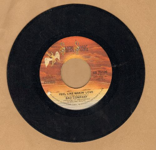 Bad Company - Feel Like Makin' Love/Wild Fire Woman - NM9/ - 45 rpm Records