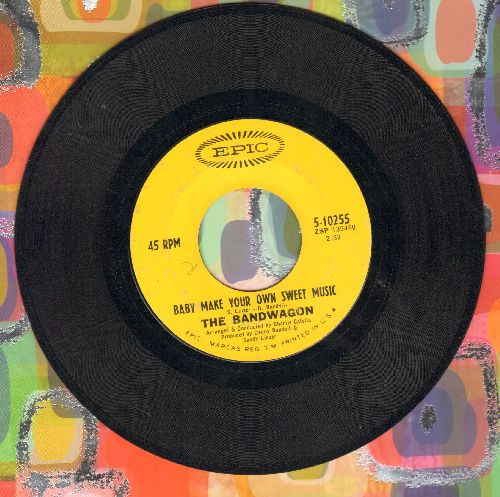Bandwagon - Baby Make Your Own Sweet Music/On The Day We Fall In Love - EX8/ - 45 rpm Records