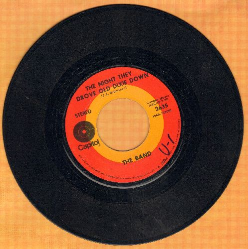 Band - The Night They Drove Old Dixie Down - EX8/ - 45 rpm Records