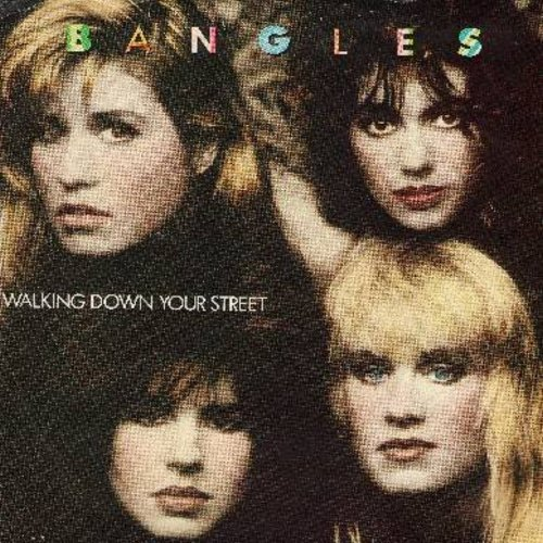Bangles - Walking Down Your Street/Let It Go (with picture sleeve) - EX8/VG7 - 45 rpm Records