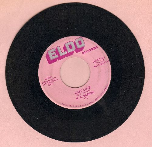 Barnum, H. B. - Lost Love/Hallelujah - EX8/ - 45 rpm Records