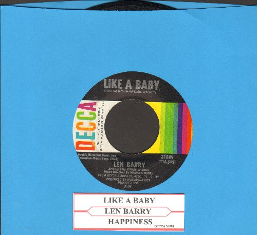 Barry, Len - Like A Baby/Happiness (with juke box label) - NM9/ - 45 rpm Records
