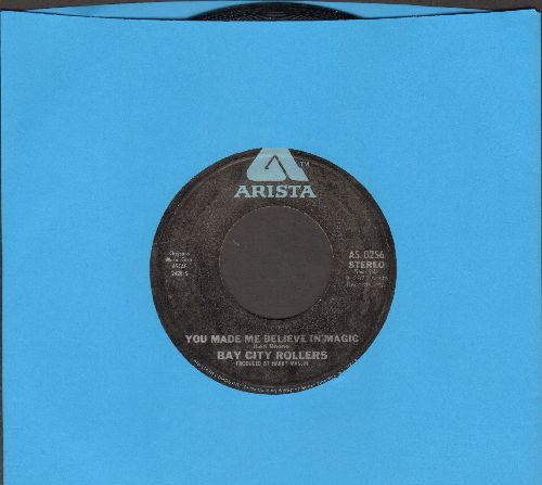 Bay City Rollers - You Made Me Believe In Magic/Dance Dance Dance - NM9/ - 45 rpm Records