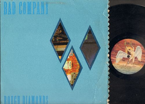 Bad Company - Rough Diamonds: Electricland, Untie The Knot, Nuthin' On The TV, Painted Face, Kickdown, Ballad Of The Band, Cross Country Boy, Old Mexico, Downhill Ryder, Racetrack (Vinyl LP Record) - NM9/EX8 - LP Records