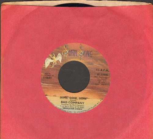 Bad Company - Gone, Gone, Gone/Take The Time  - VG7/ - 45 rpm Records