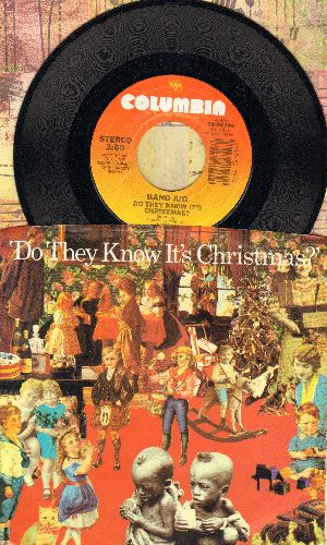 Band Aid - Do They Know It's Christmas?/Feed The World  - NM9/VG7 - 45 rpm Records
