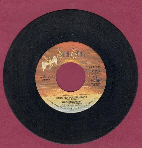 Bad Company - Rock'N'Roll Fantasy/Crazy Circles - EX8/ - 45 rpm Records
