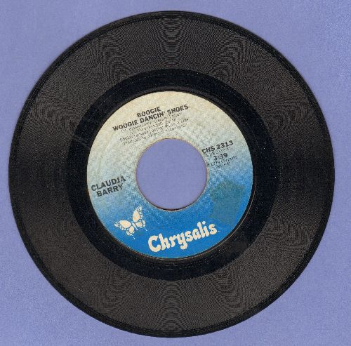 Barry, Claudja - Boogie Woogie Dancin' Shoes/Love Of The Hurtin' Kind - EX8/ - 45 rpm Records