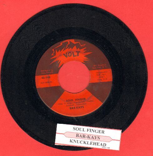 Bar-Kays - Soul Finger/Knucklehead (with juke box label) - EX8/ - 45 rpm Records