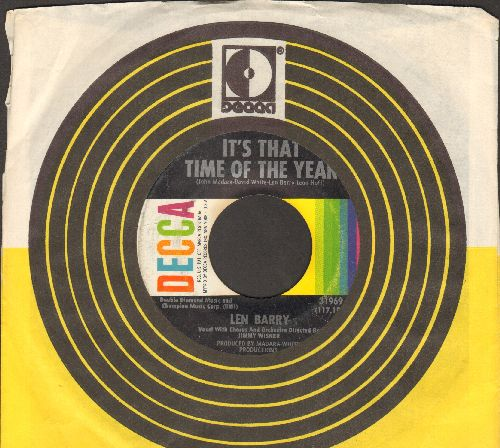 Barry, Len - Happily Ever After/It's That Time Of The Year (with Decca company sleeve) - EX8/ - 45 rpm Records