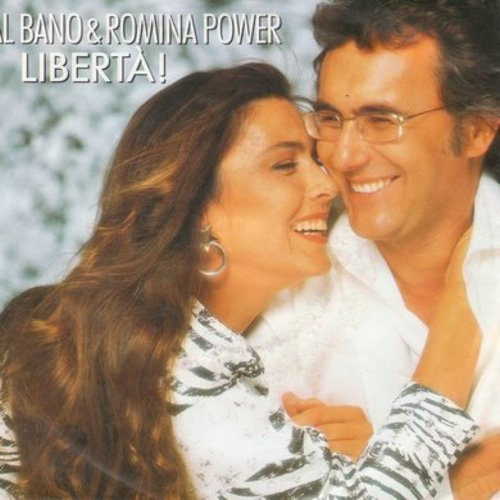 Bano, Al & Romina Power - Liberta!/Incredible Appuntamento (German Pressing with picture sleeve, sung in Italian) - M10/EX8 - 45 rpm Records