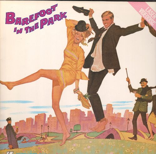 Barefoot In The Park - Barefoot In The Park - LASER DISC version of the 1967 Romantic Comedy starring Robert Redford and Hane Fonda  (This is a LASER DISC, NOT ANY OTHER KIND OF MEDIA!) - NM9/NM9 - Laser Discs