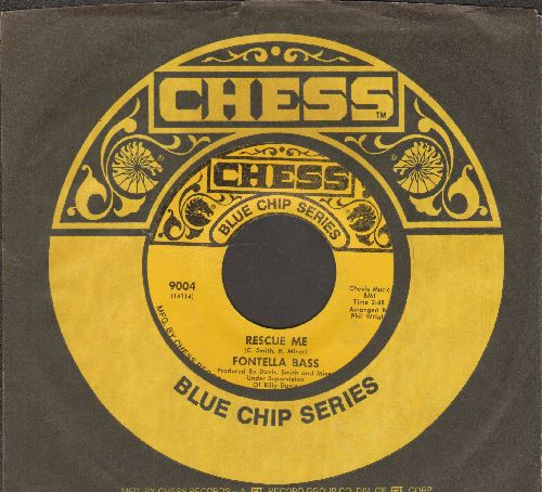 Bass, Fontella - Rescue Me/Soul Of The Man (re-issue with Chess company sleeve) - EX8/ - 45 rpm Records
