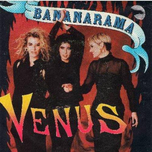 Bananarama - Venus (9:20 minutes Hellfire Mix), Venus (6:44 minutes Fire & Brimstone Mix), Venus (12 inch Extended Version) (12 inch vinyl Maxi Single) - M10/EX8 - Maxi Singles