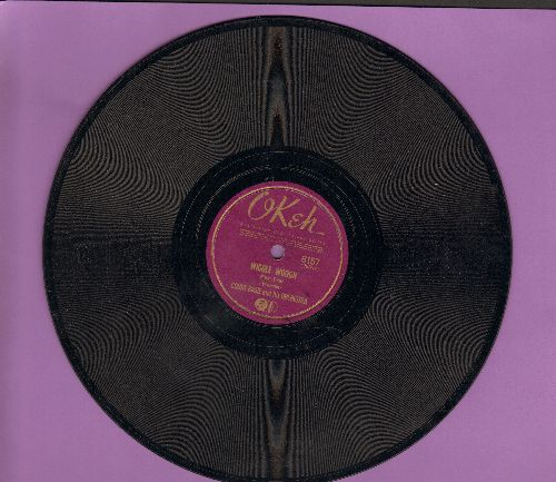 Basie, Count & His Orchestra - Wiggle Woogie/Jump The Blues Aways (10 inch 78 rpm record) - EX8/ - 78 rpm