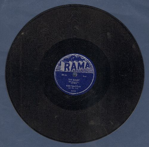 Barclay, Eddie & His Orchestra - The Bandit/Neu Piao (10 inch 78 rpm record) - EX8/ - 78 rpm