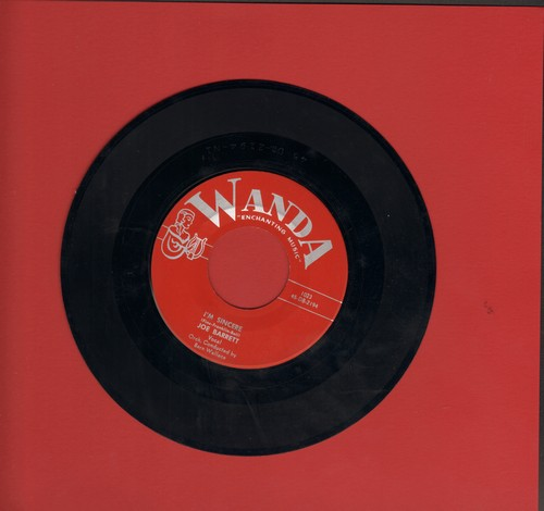 Barrett, Joe - I'm Sincere/Why Did You Break My Heart  - NM9/ - 45 rpm Records