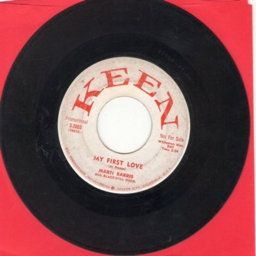 Barris, Marti - My First Love/Scottish Fling (DJ advance pressing) - VG7/ - 45 rpm Records