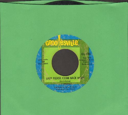 Barnes, J. J. - Baby Please Come Back Home/Chains Of Love (RARE 60s Soul 2-sider!) - VG6/ - 45 rpm Records
