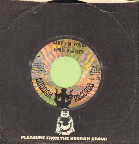 Bartley, Chris - Baby I'm Yours/I'll Take The Blame (with vintage Buddah company sleeve) (bb) - EX8/ - 45 rpm Records