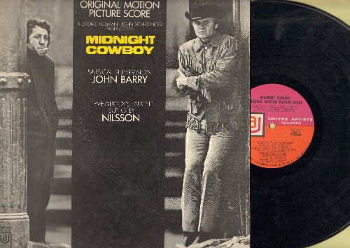 Midnight Cowboy - Midnight Cowboy - Original Motion Picture Sound Track, includes Academy Award Winning Song -Everybody's Talkin'- by Nilsson (vinyl STEREO LP record) - NM9/EX8 - LP Records
