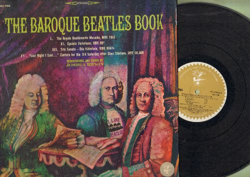 Rifkin, Joshua - The Baroque Beatles Book - Rediscovered and Edited by Joshua Rifkin (vinyl STEREO LP record) - NM9/EX8 - LP Records