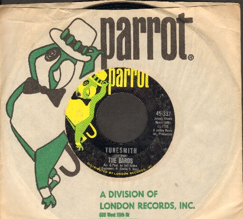Bards - Tunesmith/Goodtime Charlies Got The Blues (with Parrot company sleeve) (bb) - EX8/ - 45 rpm Records