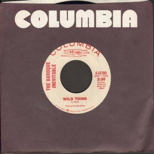 Baroque Inevitable - Wild Thing/Sunny (DJ advance pressing) - NM9/ - 45 rpm Records