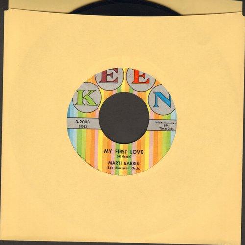 Barris, Marti - My First Love/Scottish Fling  - NM9/ - 45 rpm Records