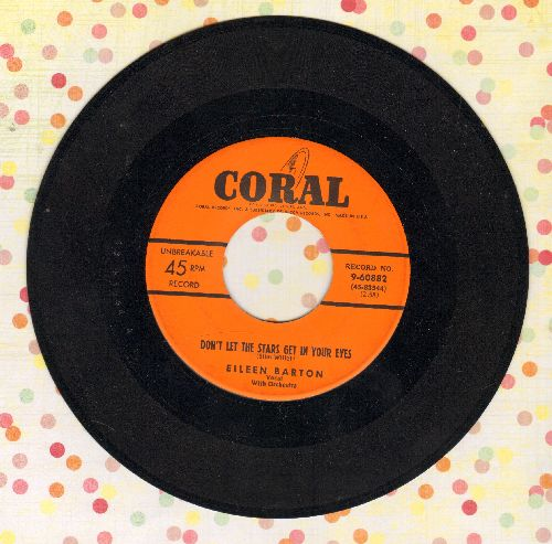 Barton, Eileen - Don't Let The Stars Get In Your Eyes/Tennessee Tango - NM9/ - 45 rpm Records