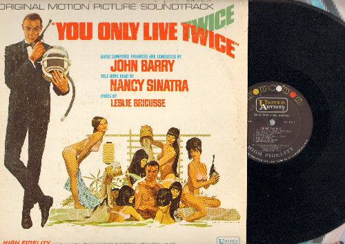 Barry, John, Nancy Sinatra - You Only Live Twice  - Original Motion Picture Sound Track arranged and conducted by John Barry featuring Title Song by Nancy Sinatra (Vinyl MONO LP record) - NM9/VG7 - LP Records