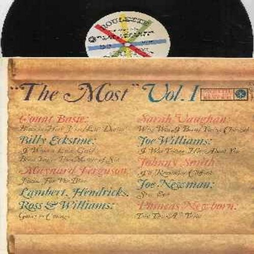 Basie, Count, Sarah Vaughan, Billy Eckstine, Joe Williams, others - The Most Vol. 1: You've Changed, I'll Remember Clifford, Take The -A- Train, Why Was I Born, I Want A Little Girl (Vinyl MONO LP record) - EX8/EX8 - LP Records