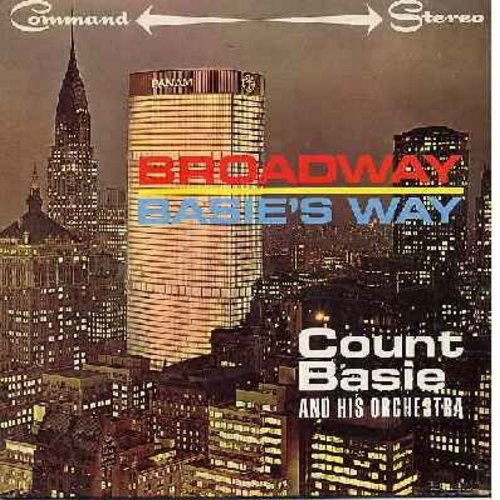 Basie, Count & His Orchestra - Broadway Basie's Way: Mame, On The Street Where You Live, People, Everything's Coming Up Roses, Hello Young Lovers (Vinyl STEREO LP record) - NM9/EX8 - LP Records