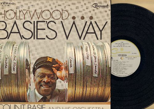 Basie, Count & His Orchestra - Hollywood…Basie's Way: Secret Love, The Trolley Song, In The Still Of The Night, Strangers In The Night, Carioca, A Fine Romance (Vinyl STEREO LP record, gate-fold cover) - NM9/EX8 - LP Records
